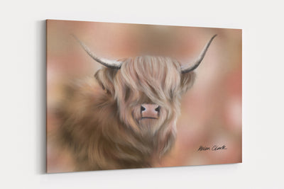 """Highlander"" - A4 Standard Canvas Print"