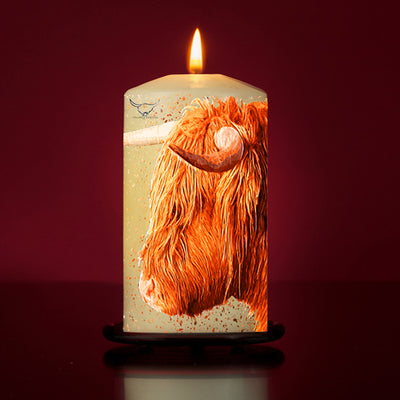 Iona Large Pillar Candle