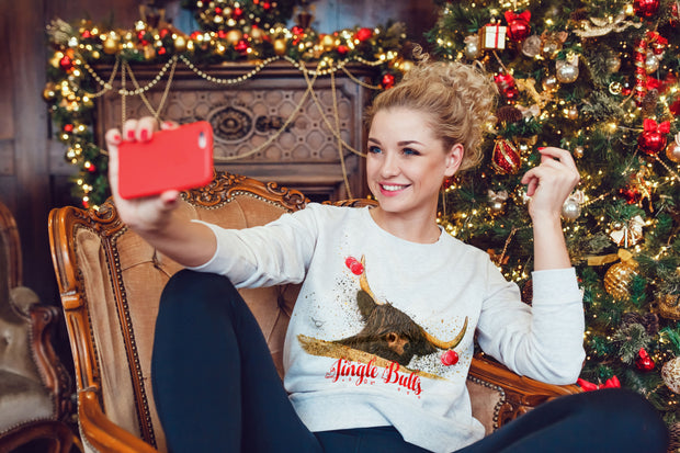 """Jingle Bulls"" Jumper"