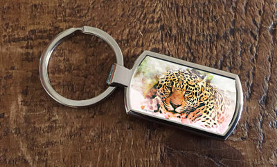 Jungle  (Oblong keyring)