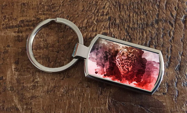 Jungle Eyes (Oblong keyring)