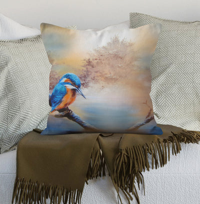 Kingfisher Blue Scatter Cushion