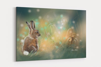 """Leveret & The Faires"" - A4 Standard Canvas Print"