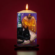 Little Book Of Spells Large Pillar Candle