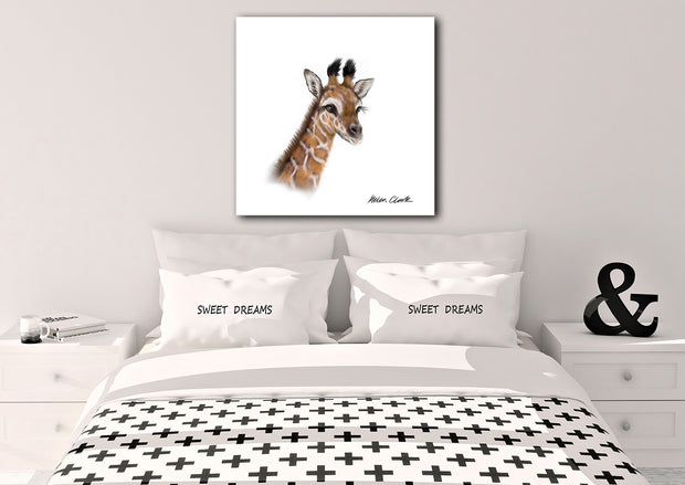 """Little Giraffe"" SUPER SIZE Canvas"