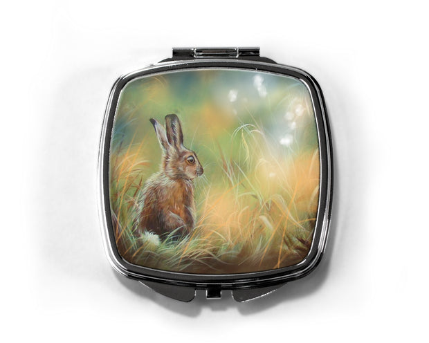 """Leveret and the Fairies"" Compact Mirror"