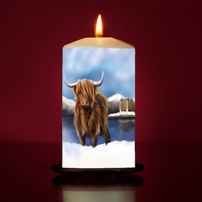 Lochie Large Pillar Candle