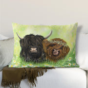 """I Moo"" Lumbar Cushion"