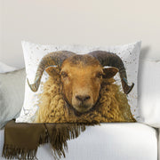 "Muddy Wellies ""Arran Ram"" Lumbar Cushion"