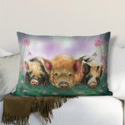 """Piggy in the Middle"" Lumbar Cushion"