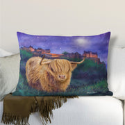 """Magical Edinburgh"" Lumbar Cushion"