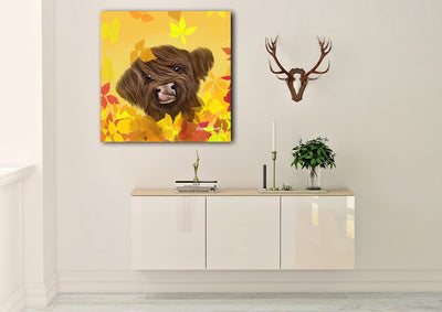 """Marmalade Autumn"" SUPER SIZE Canvas"