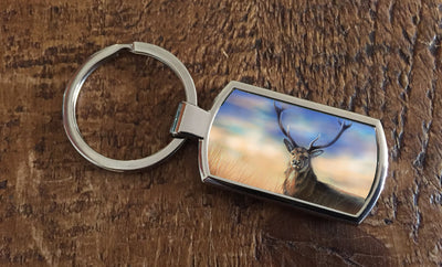 Monarch of the Peaks (Oblong keyring)