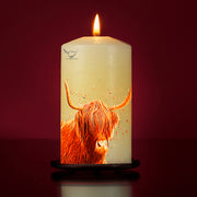 Outlander Large Pillar Candle
