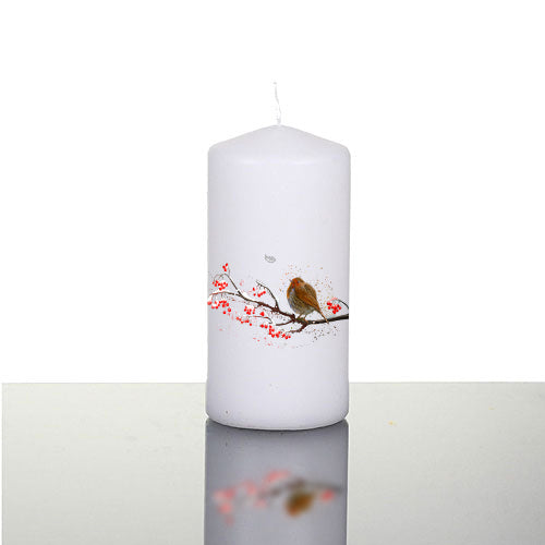 'Christmas Angel' Large Pillar Candle