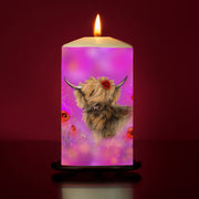 poppy Large Pillar Candle