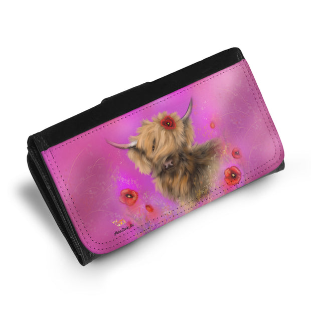 Poppy in Pink Maxi Purse