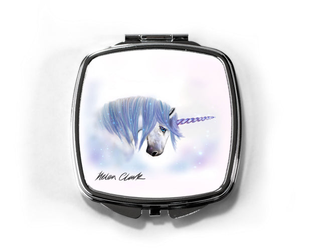 """Sapphire Angel"" Compact Mirror"