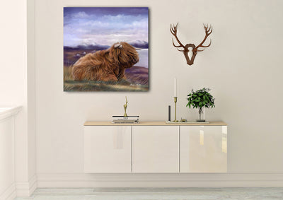 """Skye"" SUPER SIZE Canvas"