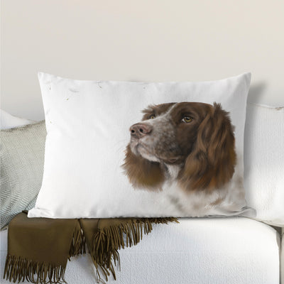 Springer Spaniel Lumbar Cushion