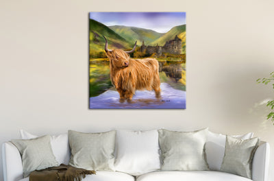 """Guardian of Loch Awe"" SUPER SIZE Canvas"