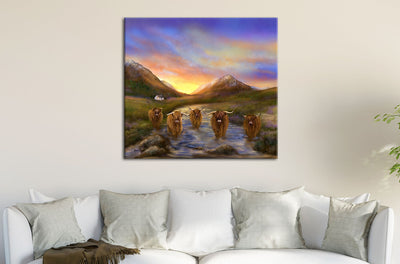 """Glencoo"" SUPER SIZE Canvas"