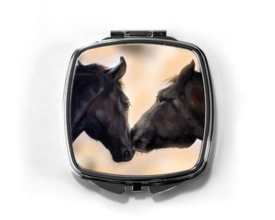 The Kiss Compact Mirror
