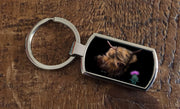 Thistle (Oblong keyring)
