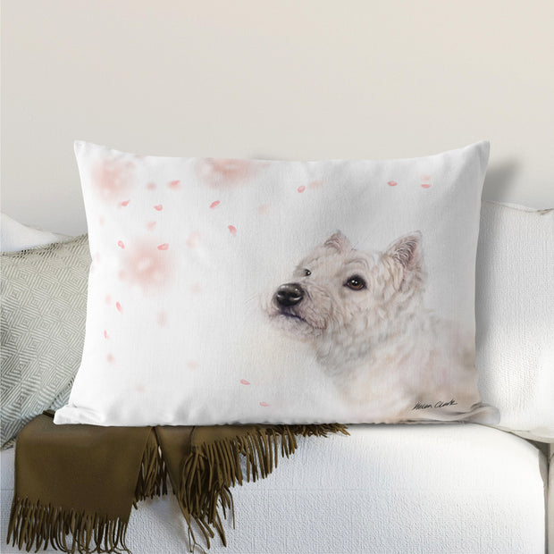 Westie Lumbar Cushion