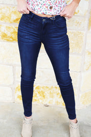 Hidden Dark Blue Skinny Jeans