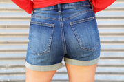 Special A Rolled Denim Shorts