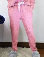 Up All Night Joggers- Pink