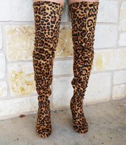 Into The Jungle Boots- Leopard