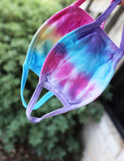 Mask- Purple Tie Dye