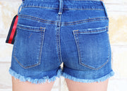 Special A Distressed Ribbon Shorts