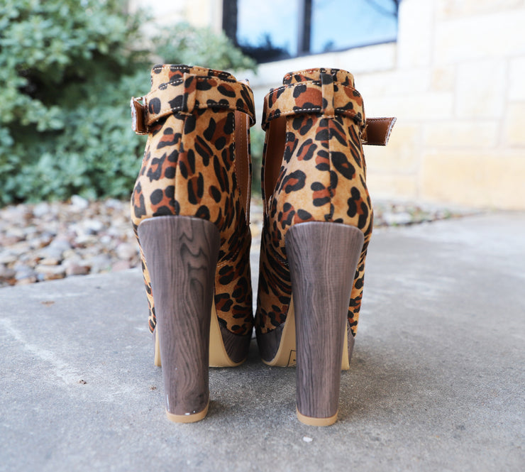 Made That Way Heels- Leopard