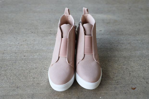 Everyday Sneaker- Blush