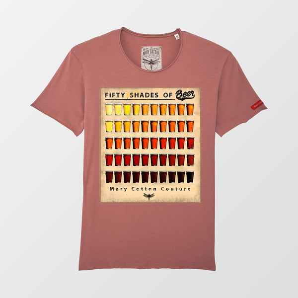 50 Shades of Beer T-Shirt Uomo