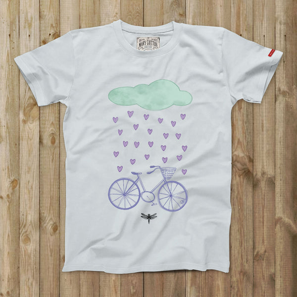 Love Rain T-Shirt Uomo
