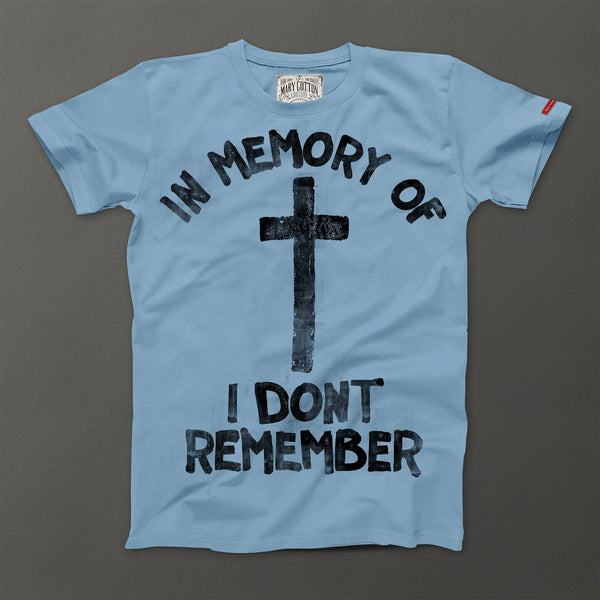 In memory of T-Shirt Uomo