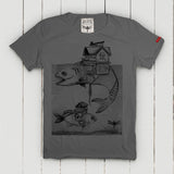Lake T-Shirt Uomo T-Shirt