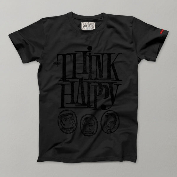 Think Happy T-Shirt Uomo T-Shirt