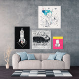 Try Stampa su Canvas | Try Print on Canvas