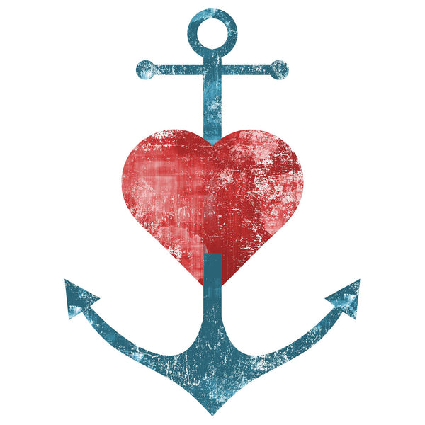 Anchor Heart Canvas