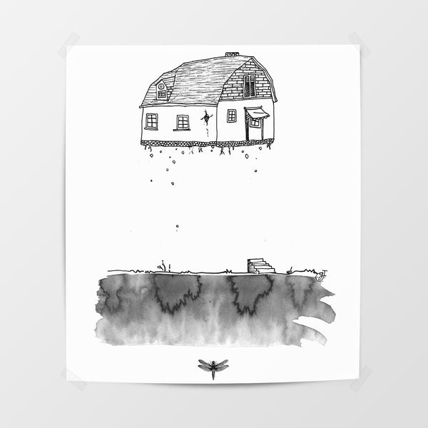 Flying House Poster