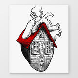 Heart Sweet Home Canvas