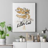 Killer Cat Canvas