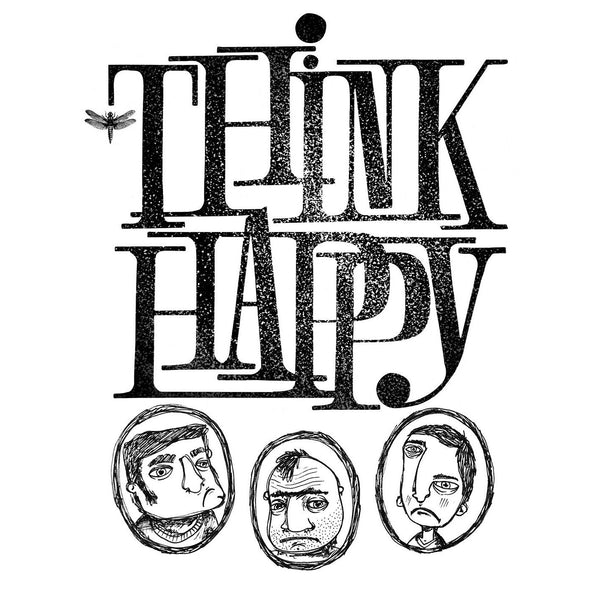 Think Happy T-Shirt Uomo