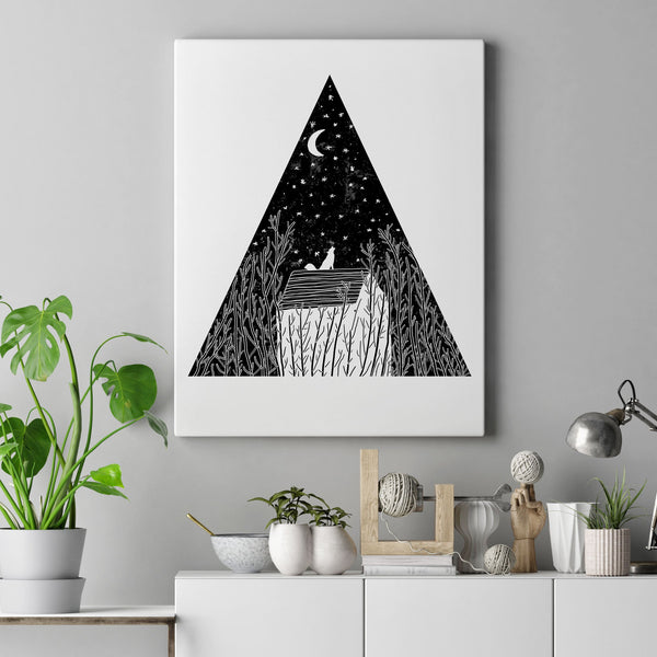 Moon Canvas