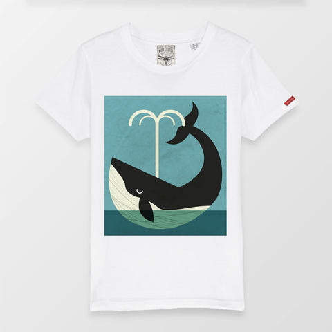 New Whale Kids T-Shirt Bambino